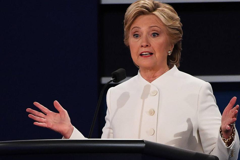 In der Wahlkampfzentrale vonPräsidentschaftsanwärterinClinton wurde ein Umschlag mit weißer Substanz gefunden.
