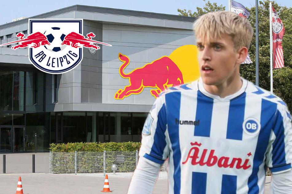 """RB Leipzigs dänisches Talent Gustav Grubbe: """"Es gab schwere Zeiten"""""""