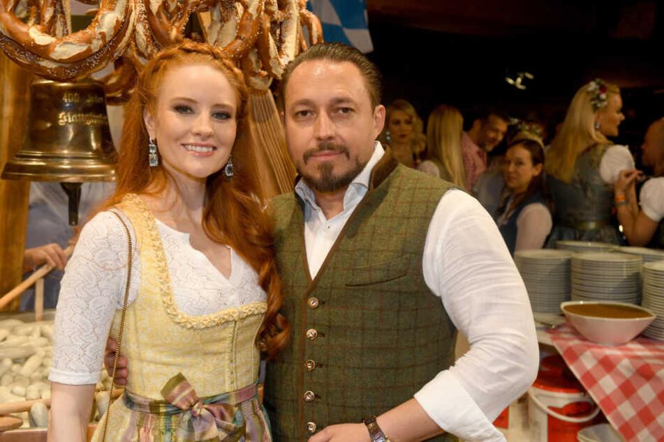 Model Barbara Meier und Mann Klemens Hallmann werden Eltern. (Archivbild)