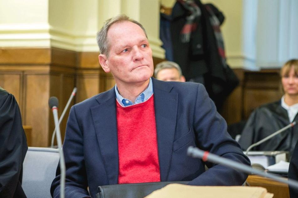 Ehemaliger Chef Rechnungswesen: Thomas Gudel - angeklagt wegen Steuerhinterziehung, Beihilfe zur Steuerhinterziehung und unerlaubten Betreibens von Versicherungsgeschäften.