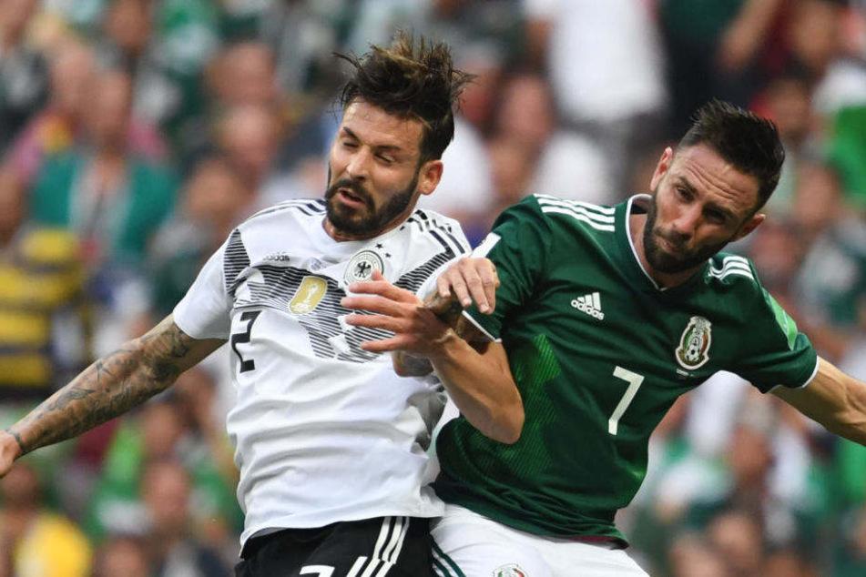 Marvin Plattenhardt feierte gegen Mexiko sein WM-Debüt.