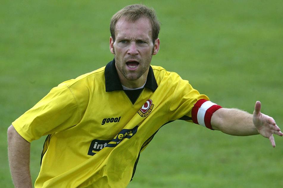Peter Heidler kickte wie sein Vater für Dynamo, wenn auch nicht ganz so erfolgreich.
