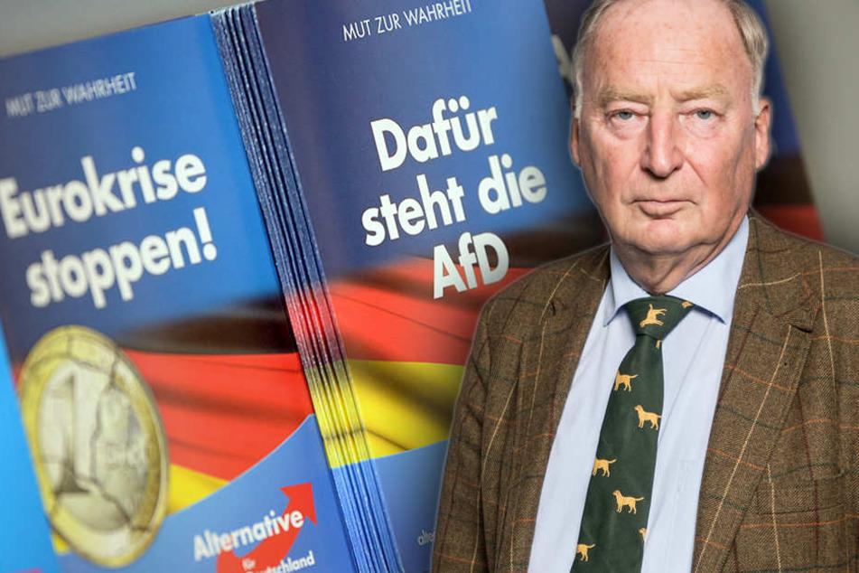 Krempelt Gauland als Oppositionsführer den Bundestag auf? (Bildmontage)