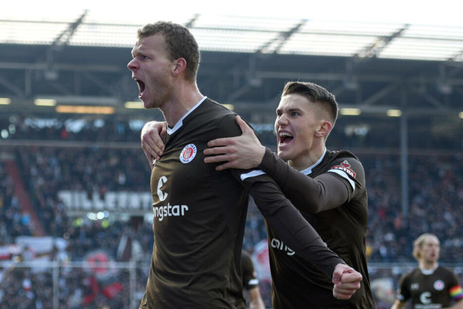 St. Paulis neues Traumpaar im Sturm: Henk Veerman (links) und Viktor Gyökeres
