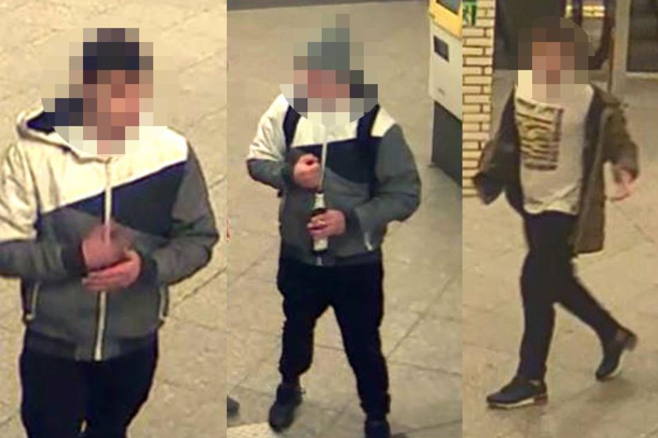 Mann ins Gleisbett geprügelt: Wer kennt diese brutalen U-Bahnschubser?
