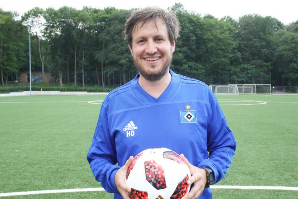 Hannes Drews trainiert neuerdings die U21 des Hamburger SV.