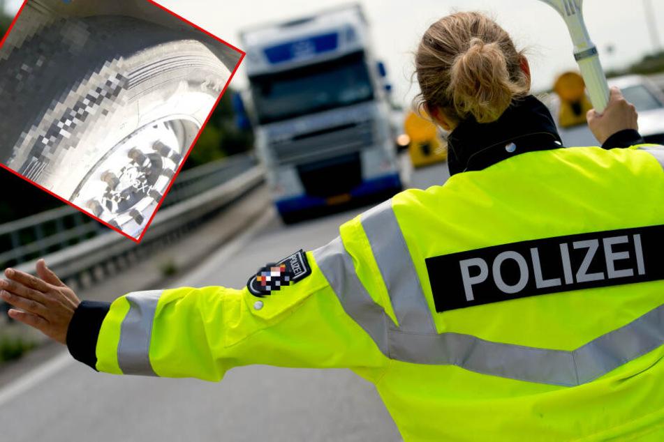 Polizei zieht Lkw auf der A45 aus dem Verkehr: Der Grund macht fassungslos