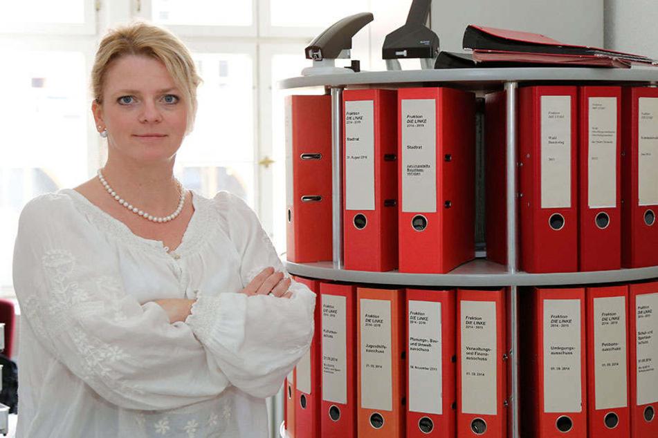 Susanne Schaper (39, Linke) kann Rocholds Korruptionsvorwürfe nicht nachvollziehen.