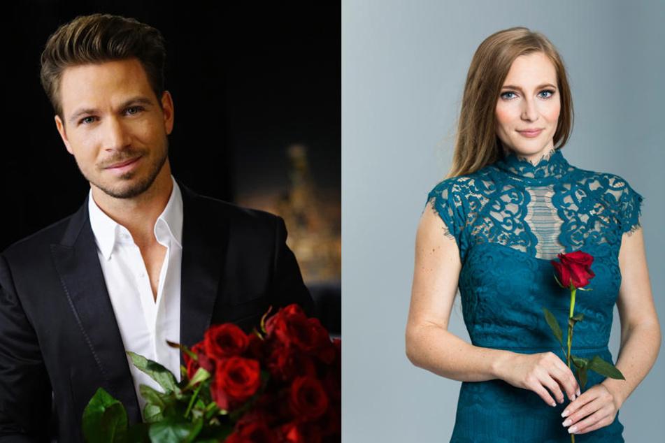 Keine Rosen mehr für Caroline (F.r.): Bachelor Sebastian schickte die Sächsin in der dritten Folge nach Hause.