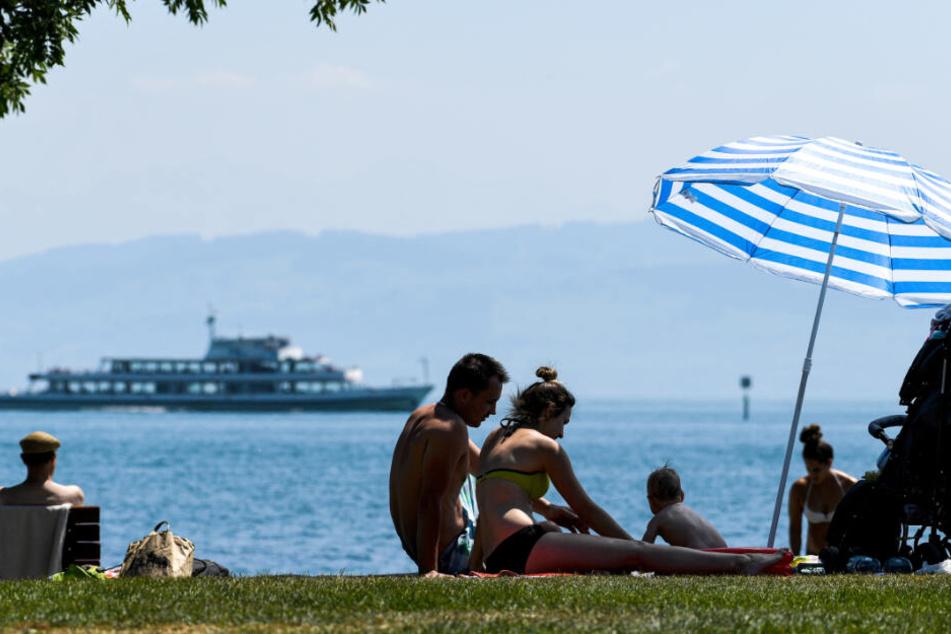 Vater und Tochter waren auf dem Bodensee unterwegs, als das Unglück geschah. (Symbolbild)