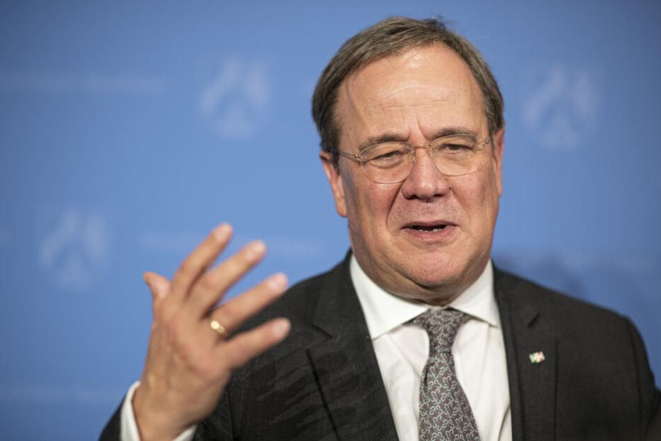 NRW-Ministerpräsident Armin Laschet ist mit der Einigung zum Kohleausstieg sehr zufrieden.