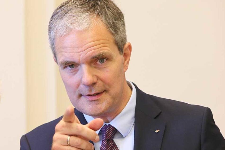 Der innenpolitische Sprecher der CDU-Fraktion im Abgeordnetenhaus, Burkard Dregger.