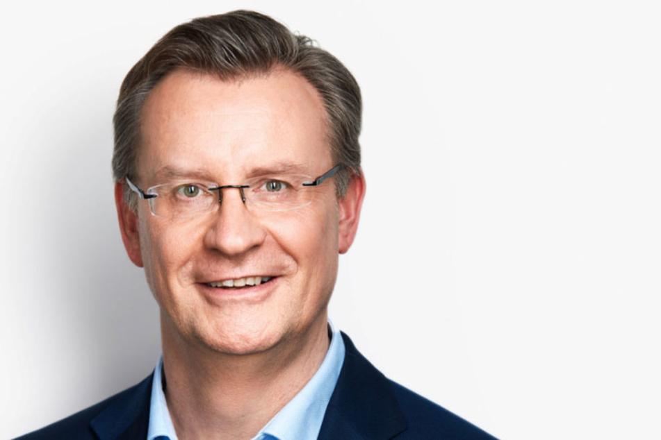 Jens Katzek (53) sprach sich für den Bau einer Freiheitsstaue in Leipzig aus.