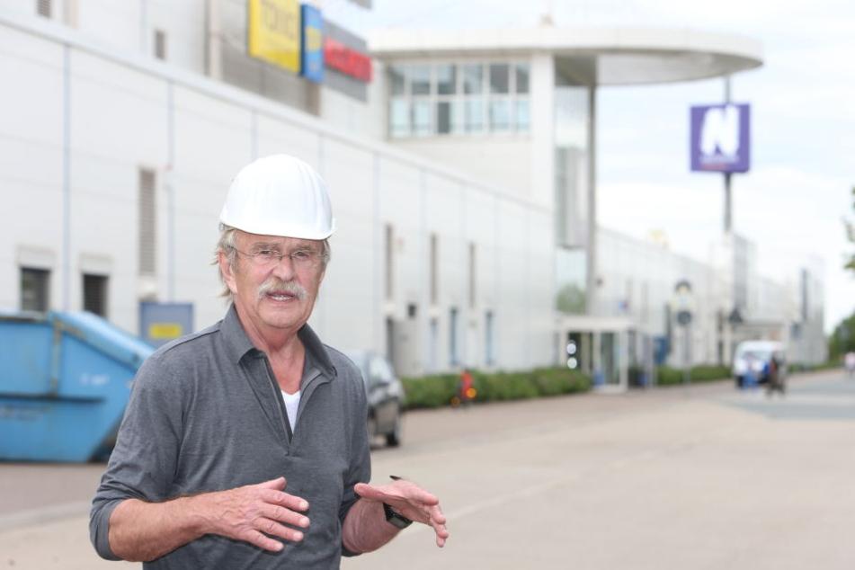 Nicht abreißen, sondern behutsam umbauen, will Stadtrat Dieter Füsslein (76, CDU/FDP-Fraktionsgemeinschaft) die Parteisäge.