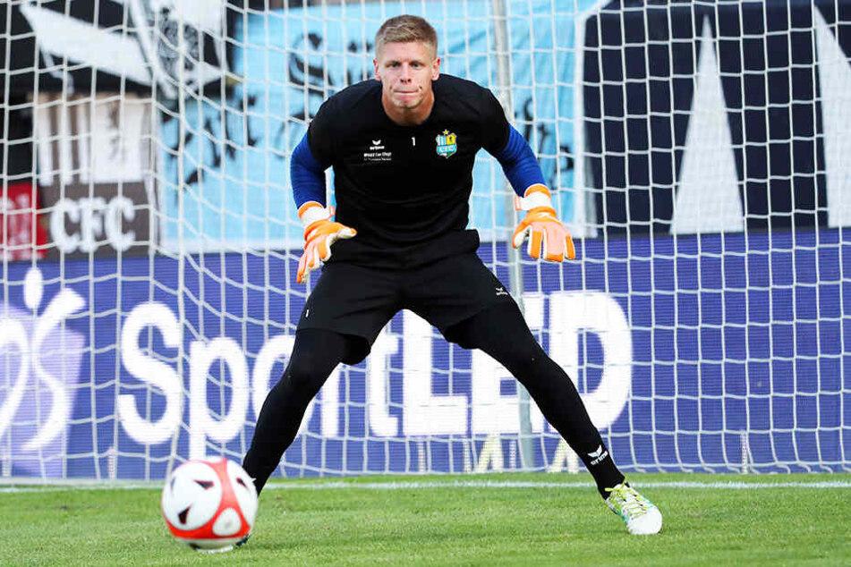 Torwart Jakub Jakubov ist die unumstrittene Nummer eins. Im Landespokal überließ er seinem jüngeren Kollegen den Vortritt.