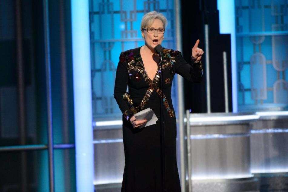 Meryl Streep kritisierte Donald Trump in ihrer Golden Globe-Rede