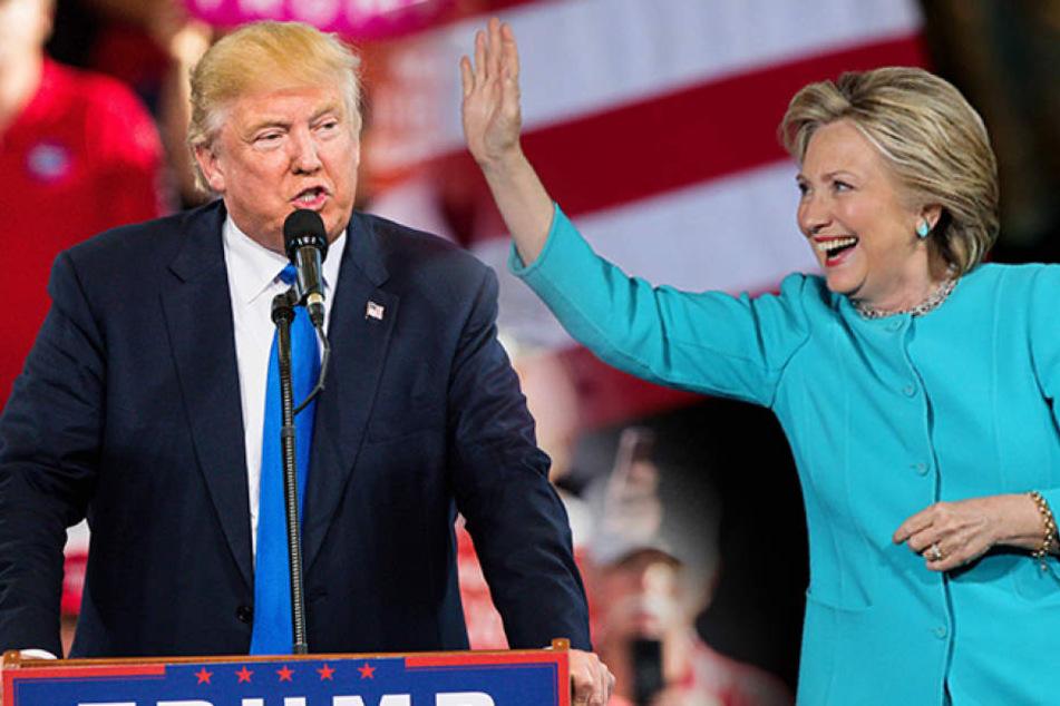 Die US-Präsidentschaftswahlen haben begonnen: Die volljährigen Bürger entscheiden am Dienstag, für welchen Kandidaten die Wahlmänner ihres Bundesstaates votieren sollen.