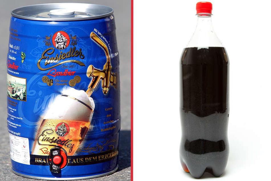 Zwei Fässer Bier und zwei Kisten Cola klauten Einbrecher aus einem Detmolder Verkaufswagen. (Symbolbild)
