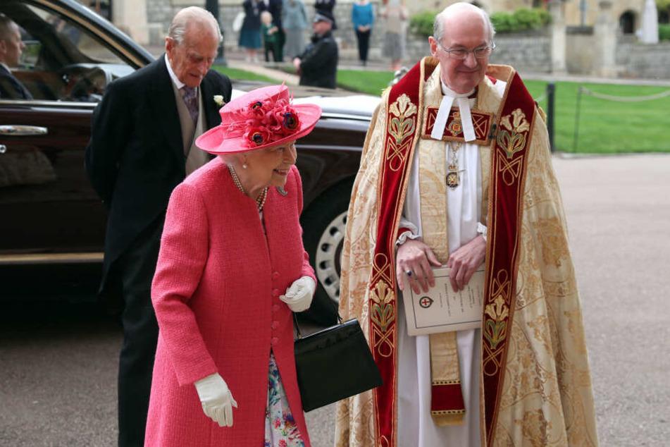 Königin Elizabeth II. mit ihrem Mann Prinz Philip.