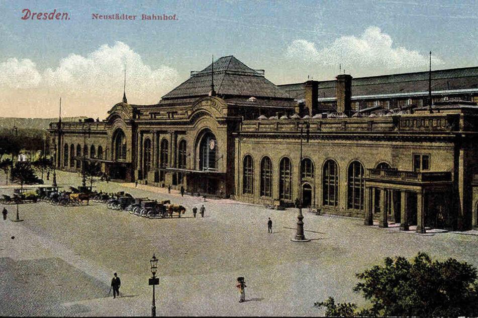 Während Pfotenhauers Amtszeit wurde der Schlesische Bahnhof eingeweiht. Heute ist hier der Neustädter Bahnhof.