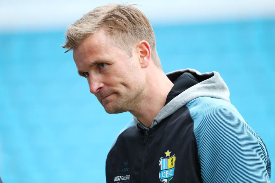 CFC-Trainer David Bergner muss am Mittwoch in Berlin auf Erik Tallig verzichten.