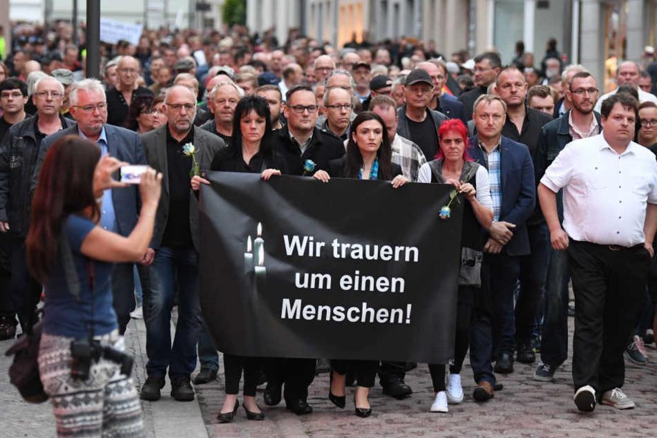 Rund 550 Teilnehmer zählten die Beamten am Montag in Köthen.