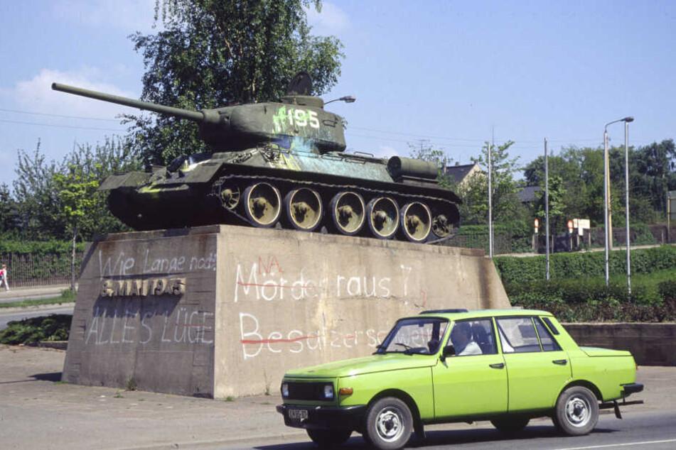 Chemnitz: Kommt der Russen-Panzer zurück nach Chemnitz?