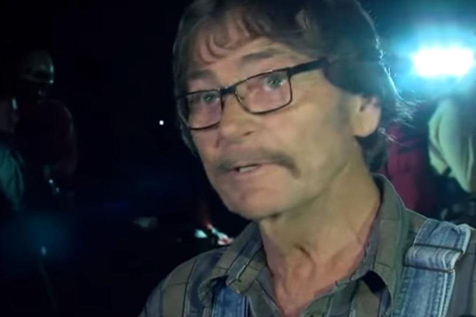 John Waddell wurde nach zwei Tagen gerettet.