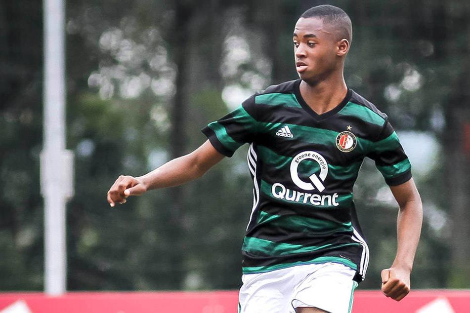 Melayro Bogarde (16) bringt einen bekannten Namen mit nach Sinsheim.