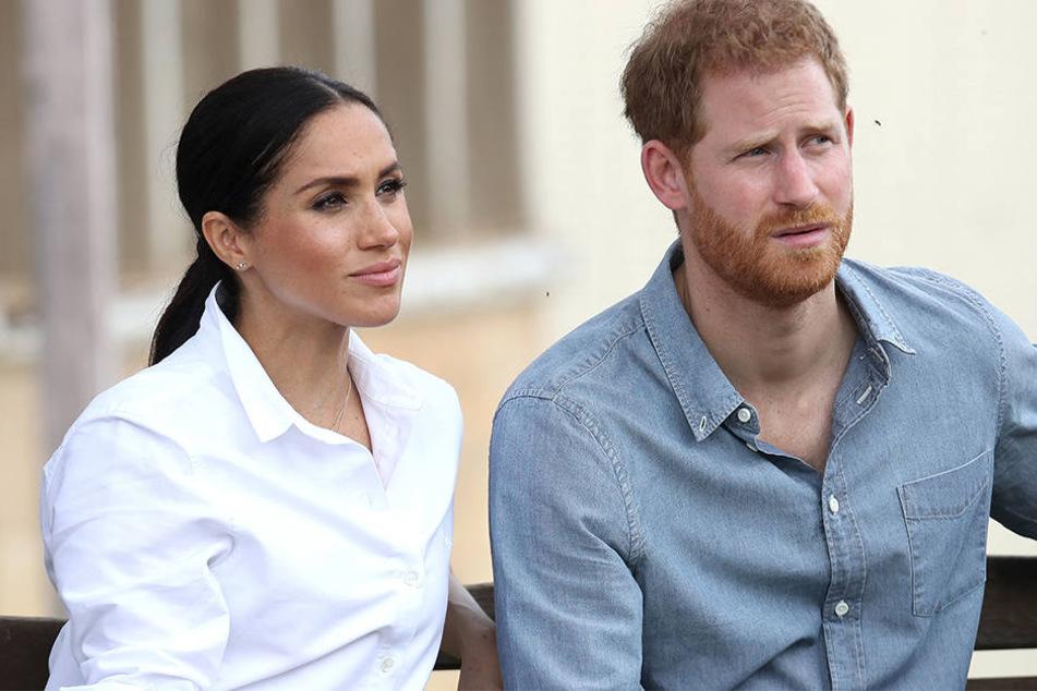 Herzogin Meghan und Prinz Harry planen ihren Umzug.