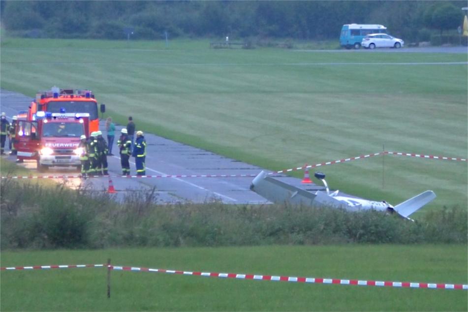 Erneut ist es nahe der Start- und Landebahn am Flugplatz in Weiden zu einem Unfall gekommen. Das Luftfahrtbundesamt ermittelt.