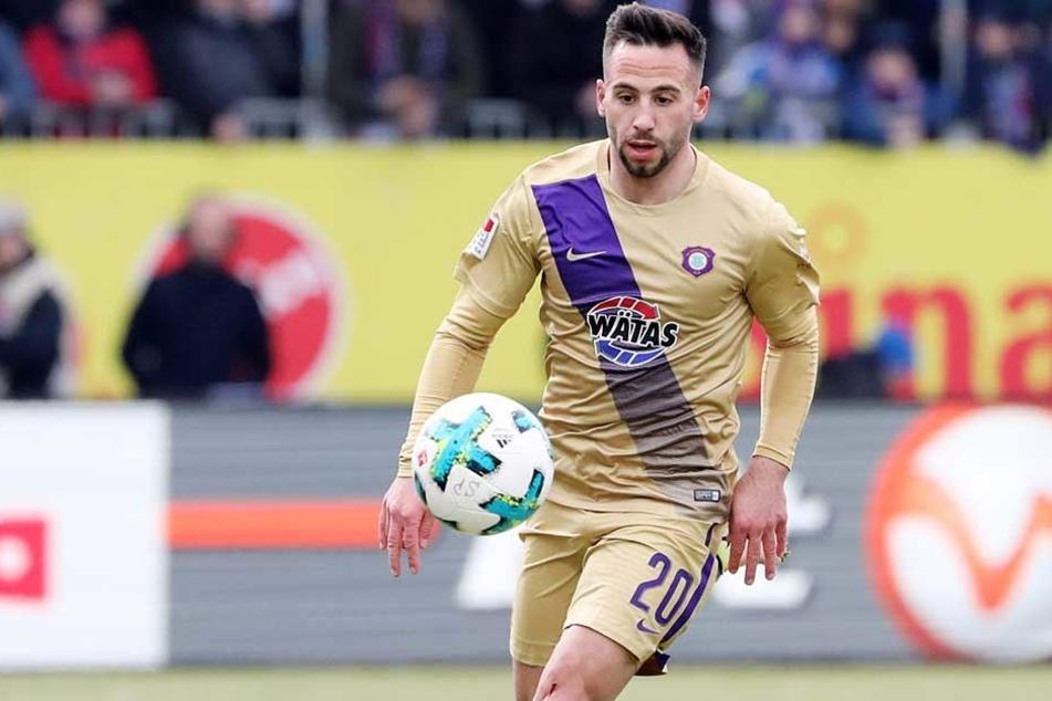 Calogero Rizzuto ist gegen seinen Ex-Verein Kaiserslautern besonders heiß.
