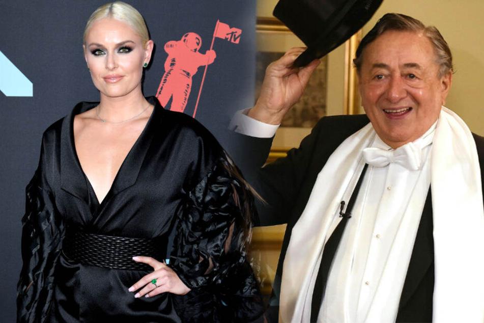 """Richard """"Mörtel"""" Lugner und seine Begleitung Lindsey Vonn für den Opernball 2020."""