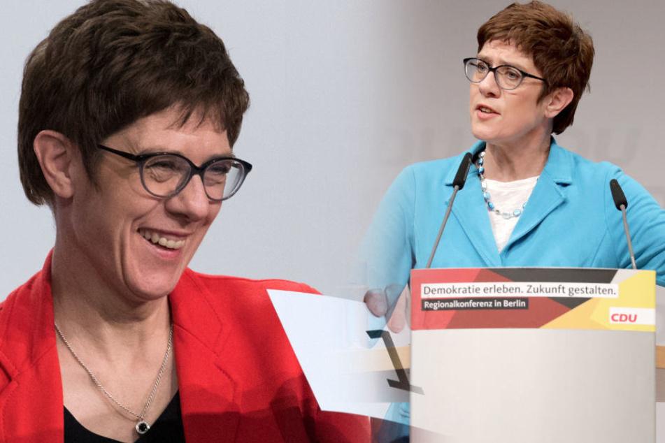 Kramp-Karrenbauer spricht im Interview über ihre Schulzeit.