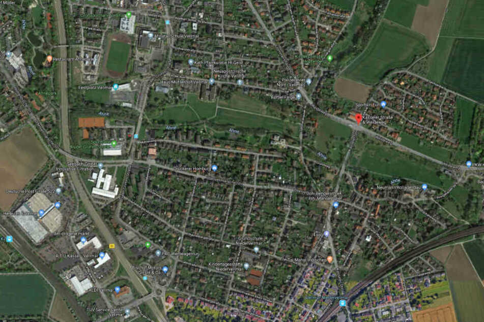 Die Verkehrskontrolle fand am Montagabend im Bereich Weideweg/Kasseler Straße in Vellmar statt.