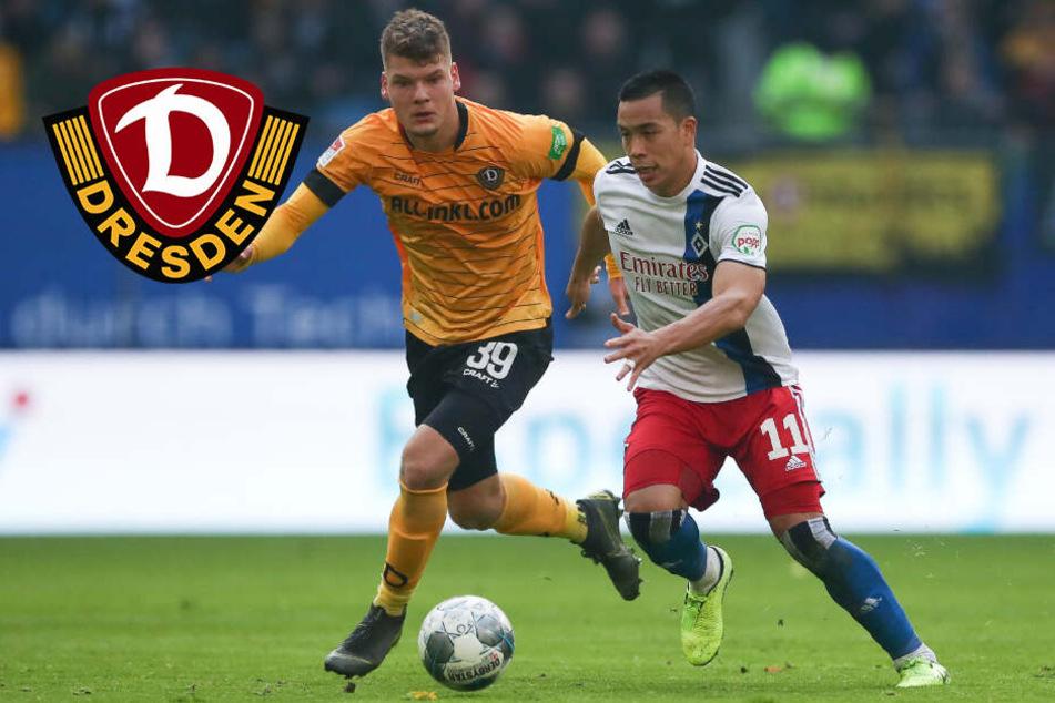 Dynamo Dresden kassiert Last-Minute-K.o. beim HSV