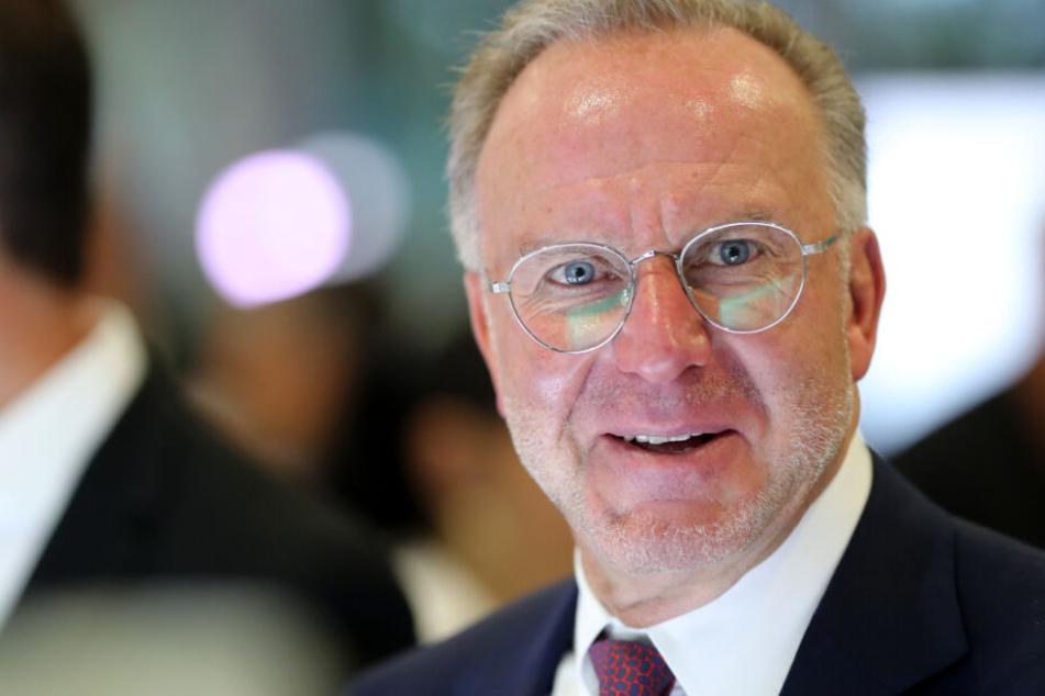 Karl-Heinz Rummenigge hatte telefonischen Kontakt mit Arsène Wenger.