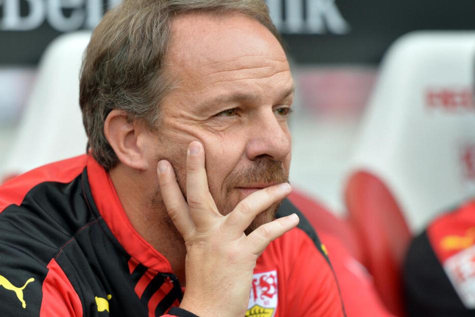 War beim VfB für sein Offensiv-Spiel berüchtigt: Alexander Zorniger.