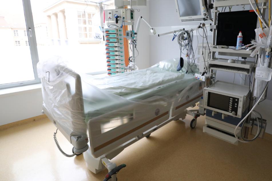 In Baden-Württemberg sind derzeit 2326 von 3221 verfügbaren Intensivbetten belegt.