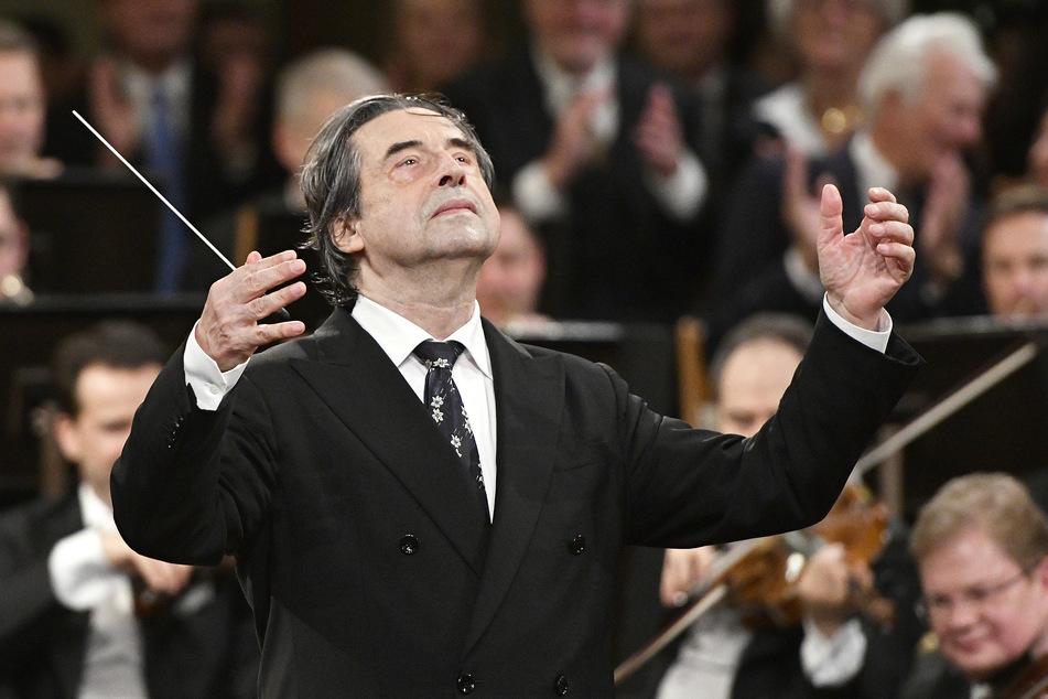 Riccardo Muti, italienischer Dirigent, wird das Neujahrskonzert 2021 in Wien wohl vor leeren Rängen aufführen.