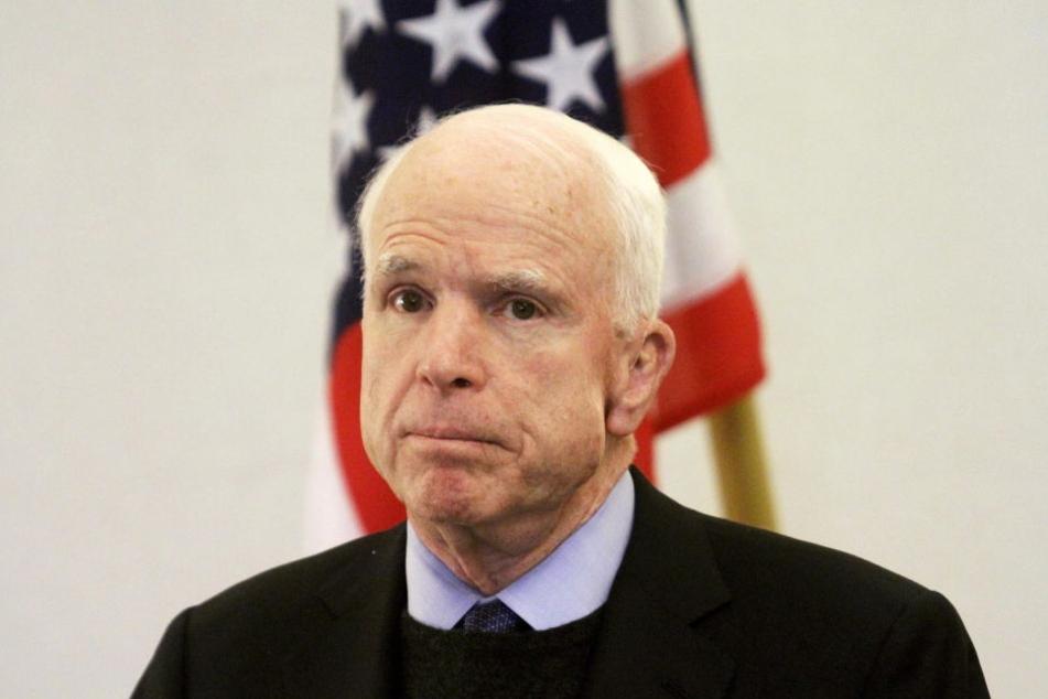 US-Senator John McCain (80) hat einen Hirntumor.