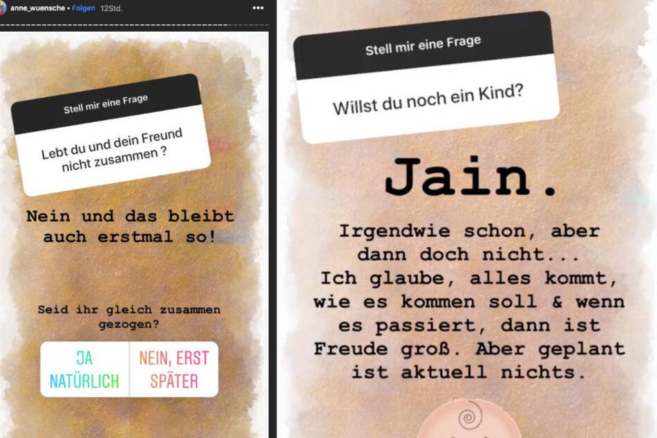 In einer Fragerunde spricht die Berlinerin über ihre Zukunftspläne mit Freund Karim.