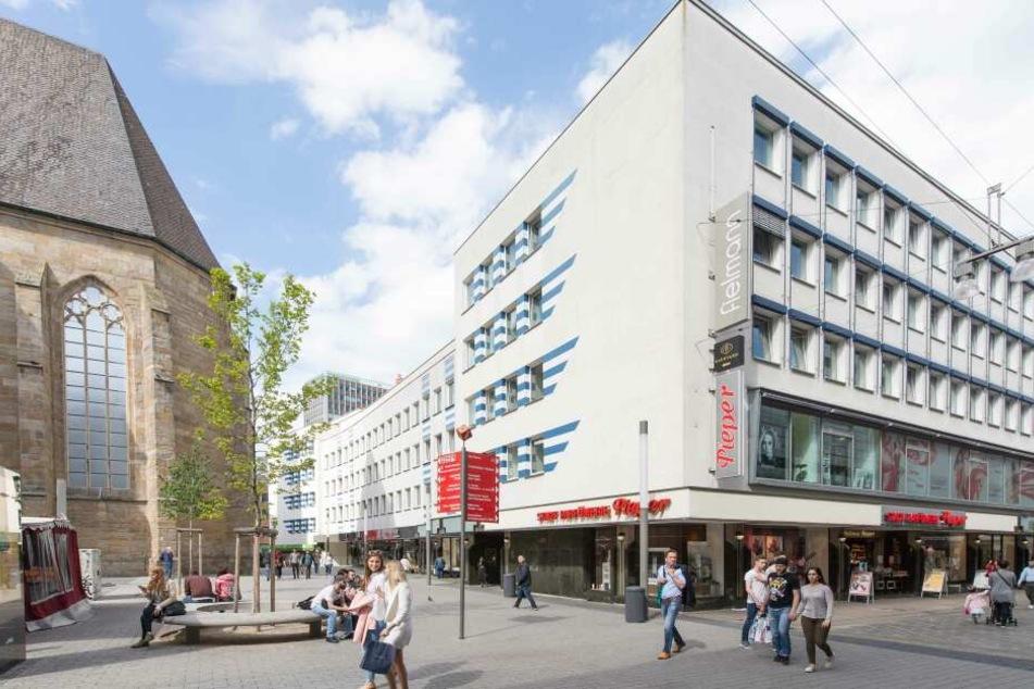 Der Sitz von CCC an der Kampstraße direkt neben der St. Petri-Kirche.