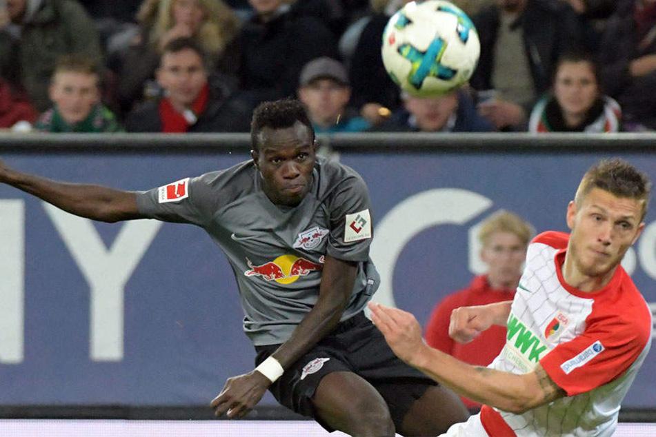 So richtig wollten die Rot-Weißen beim Spiele gegen Augsburg nicht in Fahrt kommen.