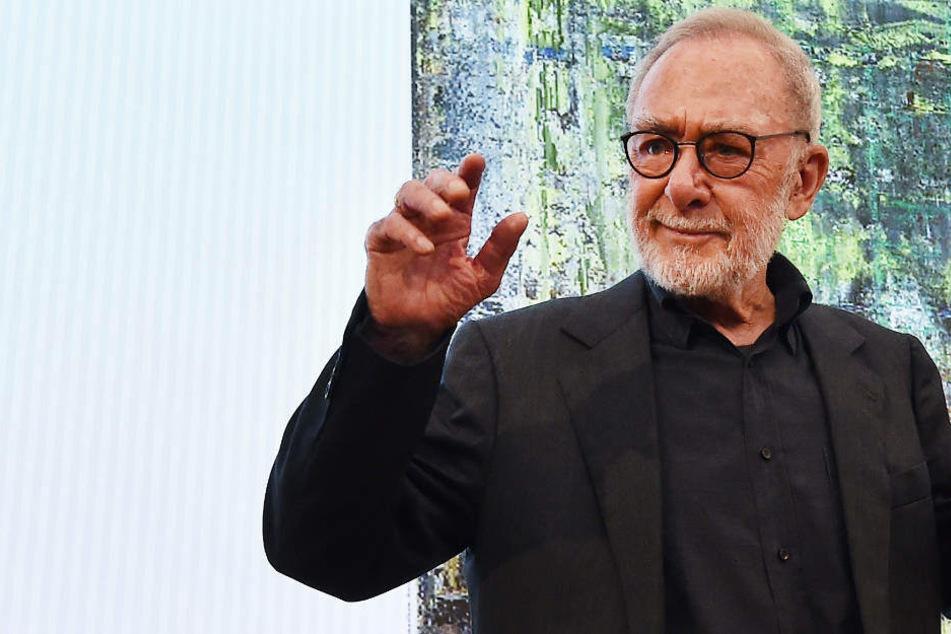 Gerhard Richter gehört zu den am höchsten dotierten lebenden Künstlern.