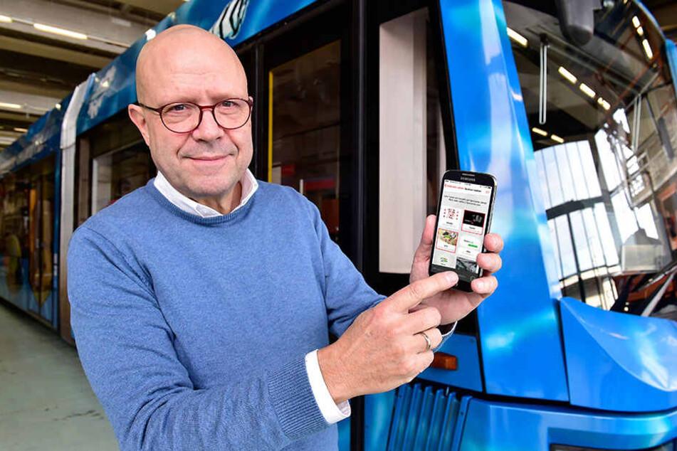 Stefan Tschök (59), Sprecher der CVAG, will mit den Düsseldorfer Kollegen  über die neue Idee sprechen.