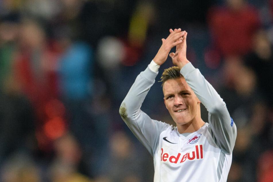 Der 20-Jährige war im Sommer von RB Salzburg nach Leipzig gewechselt.