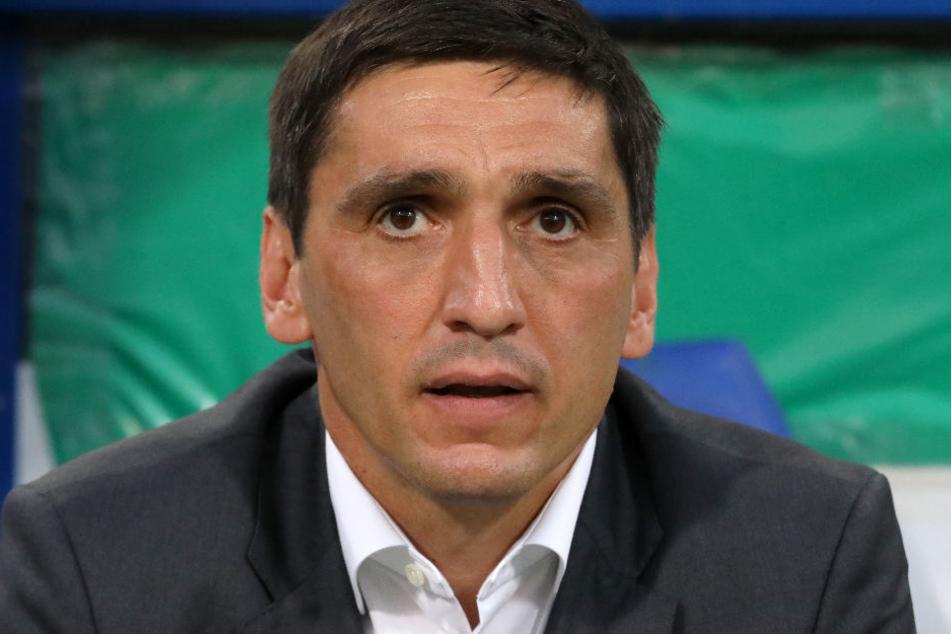"""""""Das Ergebnis haut uns nicht um"""": Trainer Tayfun Korkut."""