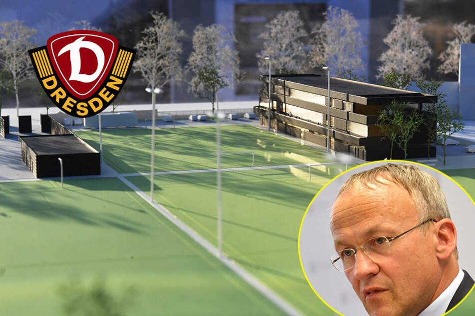 Nach Genehmigung: Steht dem Dynamo-Neubau noch etwas im Weg?