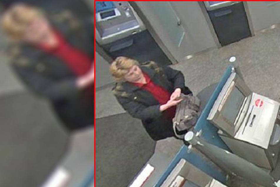 Die Polizei sucht nach dieser Frau, die eine 52-Jährige in einem Schuhgeschäft auf der Kesselsdorfer Straße bestohlen haben soll.